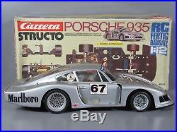 Vintage Structo Carrera 1/12 R/C Porsche 935 made in Germany 90328 Tamiya Servo