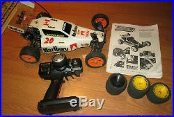 Vintage TEAM LOSI JRx2 1/10 Buggy withNovak, Motor, Futaba ARTR extras FREE SHIP
