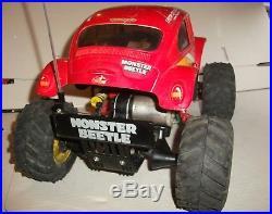Vintage Tamiya 1/10 Monster Beetle + 27mhz Futaba radio