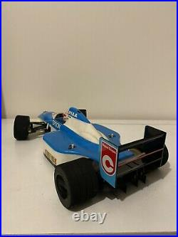 Vintage Tamiya F102 Tyrrell with radio gear (F103, F102, F101, F1, Futaba MC116)