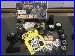 Vintage Team Associated RC10, Futaba Radio Control, just add battery