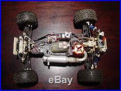Vintage Team Associated RC10 GT Built RC Car Dynamite Nitro Engine Futaba Servos