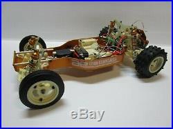 Vintage Team Associated RC10 Gold pan yokomo kyosho losi rc buggy futaba1