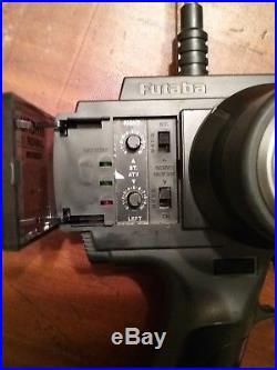 Vintage Team Associated Rc10 Pan Car Working Radio Electronics Futaba Control +
