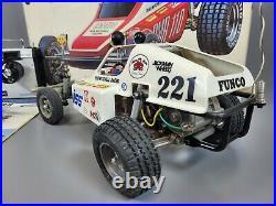 Vintage Use 80's Tamiya 1/10 Rough Rider Racing Buggy No RA-1015 with Futaba Box