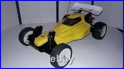 Vintage kyosho Outrage Buggy with Futaba Attack Controller (EXCELLENT) UP-GRADED