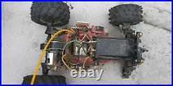 Vtg 80s TAMIYA Super Blackfoot RC Truck jdm usa tyco turbo Futaba Gas 1/10. Ford