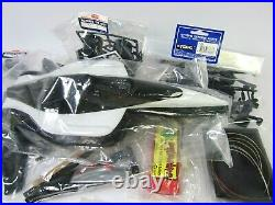 Vtg Kyosho SR-5 Chassis Delco Futaba Galles Lola T96 Mercedes Sealed in Bags NOS