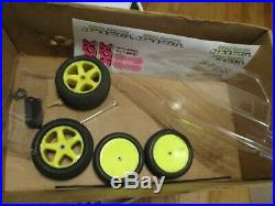 Vtg Losi XX CR Buggy with Orginal box. Futaba, Revtech motor, new body/ decals