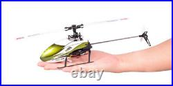 Wltoys XK 6CH 3D 6G Remote Control Toy RC Helicopter +Transmitter FUTABA S-FHSS