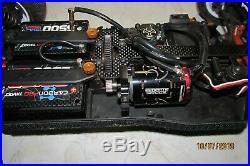 XRAY XB4 4WD 1/10 RACING BUGGY ARTR Upgraded Custom Painted Orion Futaba